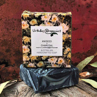 Aniseed, Lavender and Charcoal Soap Bar - Urthly Organics - Bar Soap - Throw Some Seeds - Australian gardening gifts and eco products online!