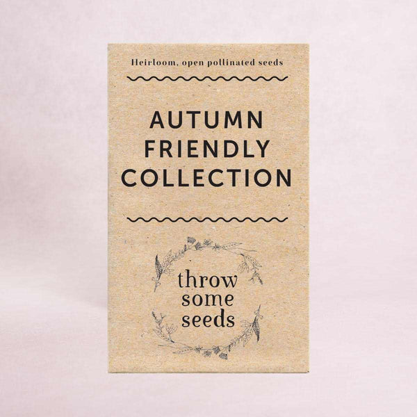 Autumn Friendly Collection Seeds - Seed Collections - Throw Some Seeds - Australian gardening gifts and eco products online!