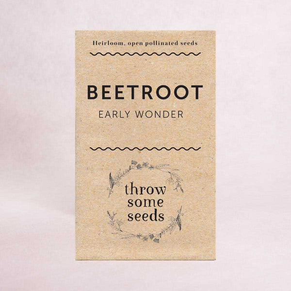 Beetroot (Early Wonder) Seeds - Seeds - Throw Some Seeds - Australian gardening gifts and eco products online!