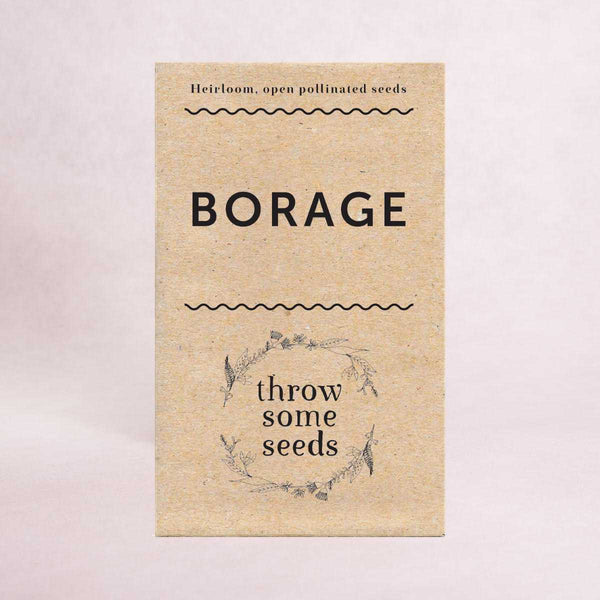 Borage Seeds - Seeds - Throw Some Seeds - Australian gardening gifts and eco products online!