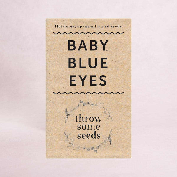Baby Blue Eyes Seeds - Seeds - Throw Some Seeds - Australian gardening gifts and eco products online!