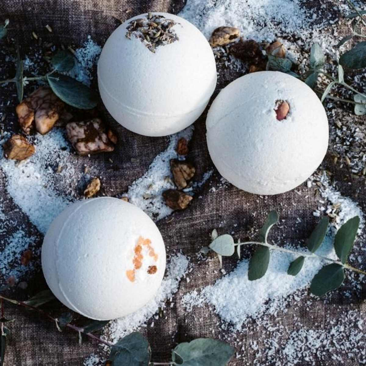Handmade Bath Bombs - Urthly Organics - Bath Bomb - Throw Some Seeds - Australian gardening gifts and eco products online!
