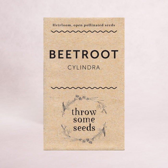 Beetroot (Cylindra) Seeds - Seeds - Throw Some Seeds - Nature Inspired Gifts for the Home & Garden