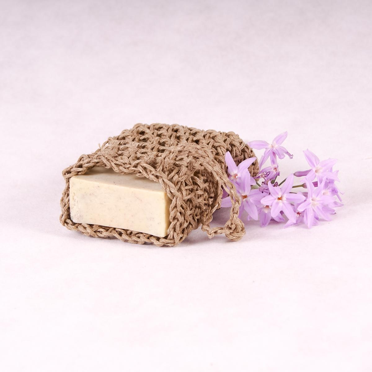 Soap Saver - Hemp - Soap Saver - Throw Some Seeds - Australian gardening gifts and eco products online!