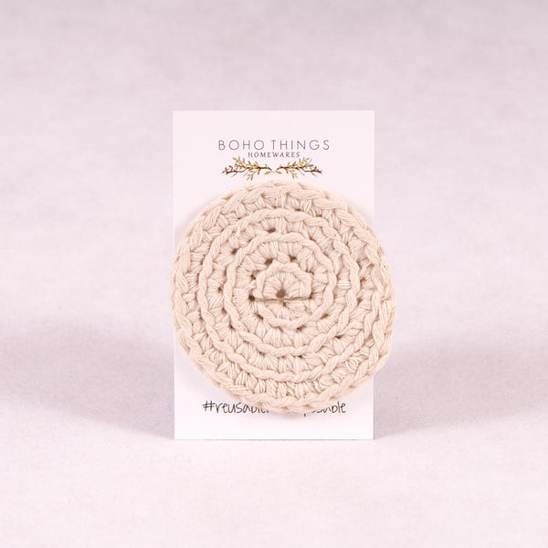Face Scrubbies - Cotton - Face Scrubbie - Throw Some Seeds - Australian gardening gifts and eco products online!