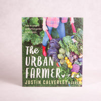 The Urban Farmer | By Justin Calverley & Ceres - Book - Throw Some Seeds - Australian gardening gifts and eco products online!