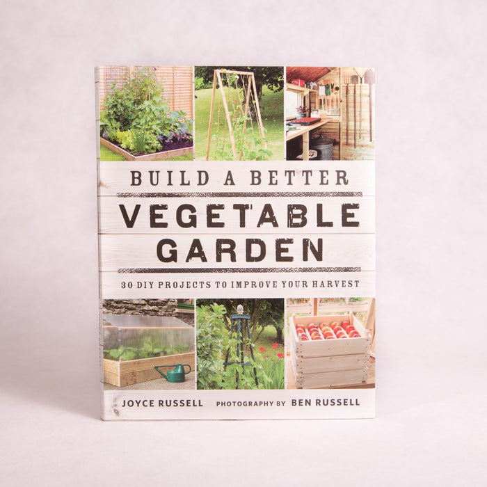 Build a Better Vegetable Garden | By Joyce Russell - Book - Throw Some Seeds - Australian gardening gifts and eco products online!