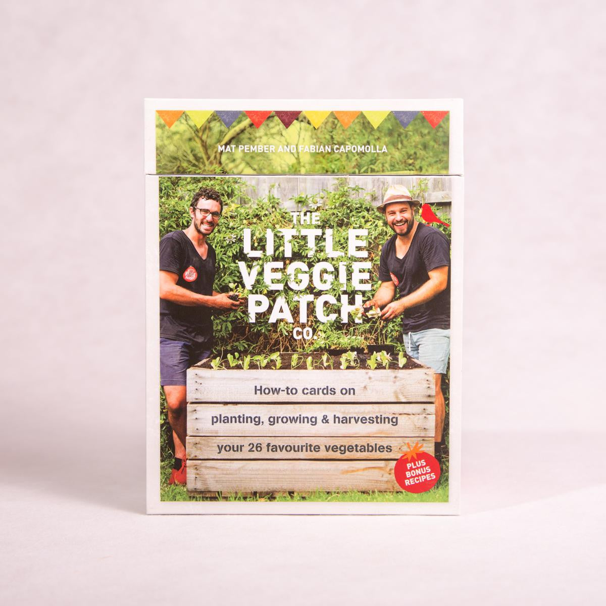 How to Cards: Planting, Growing & Harvesting | by the Little Veggie Patch Co - How-to Cards - Throw Some Seeds - Australian gardening gifts and eco products online!