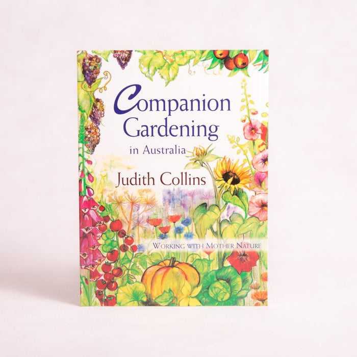 Companion Gardening in Australia | By Judith Collins - Book - Throw Some Seeds - Australian gardening gifts and eco products online!