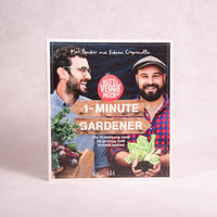 1-Minute Gardener | by the Little Veggie Patch Co - Book - Throw Some Seeds - Australian gardening gifts and eco products online!
