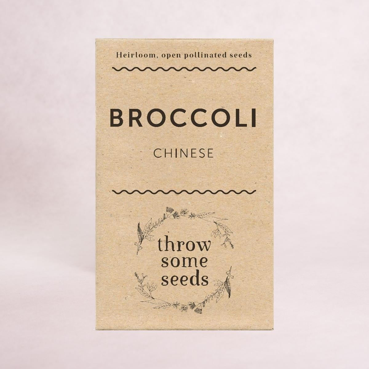 Chinese Broccoli (Hong Kong) Seeds - Seeds - Throw Some Seeds - Australian gardening gifts and eco products online!