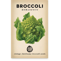 Broccoli (Romanesco) Heirloom Seeds - Seeds - Throw Some Seeds - Australian gardening gifts and eco products online!