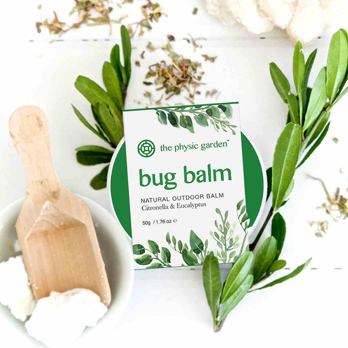The Physic Garden Bug Balm - 50gm