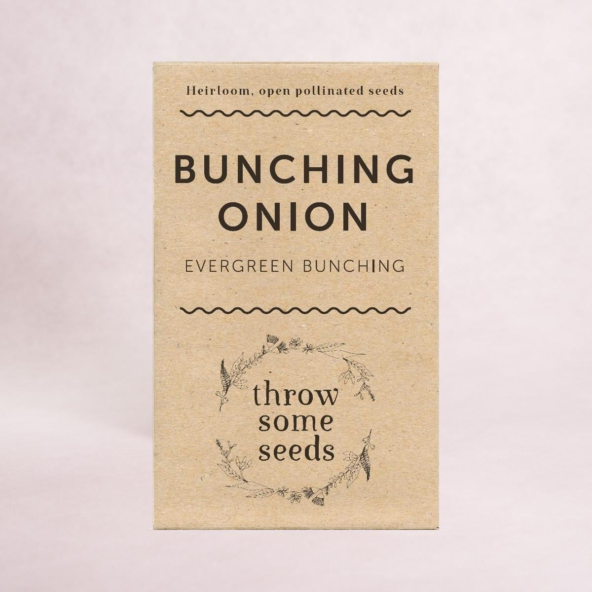 Bunching Onion (Evergreen Bunching) Seeds - Seeds - Throw Some Seeds - Australian gardening gifts and eco products online!