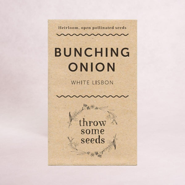 Bunching Onion (White Lisbon) Seeds - Seeds - Throw Some Seeds - Australian gardening gifts and eco products online!