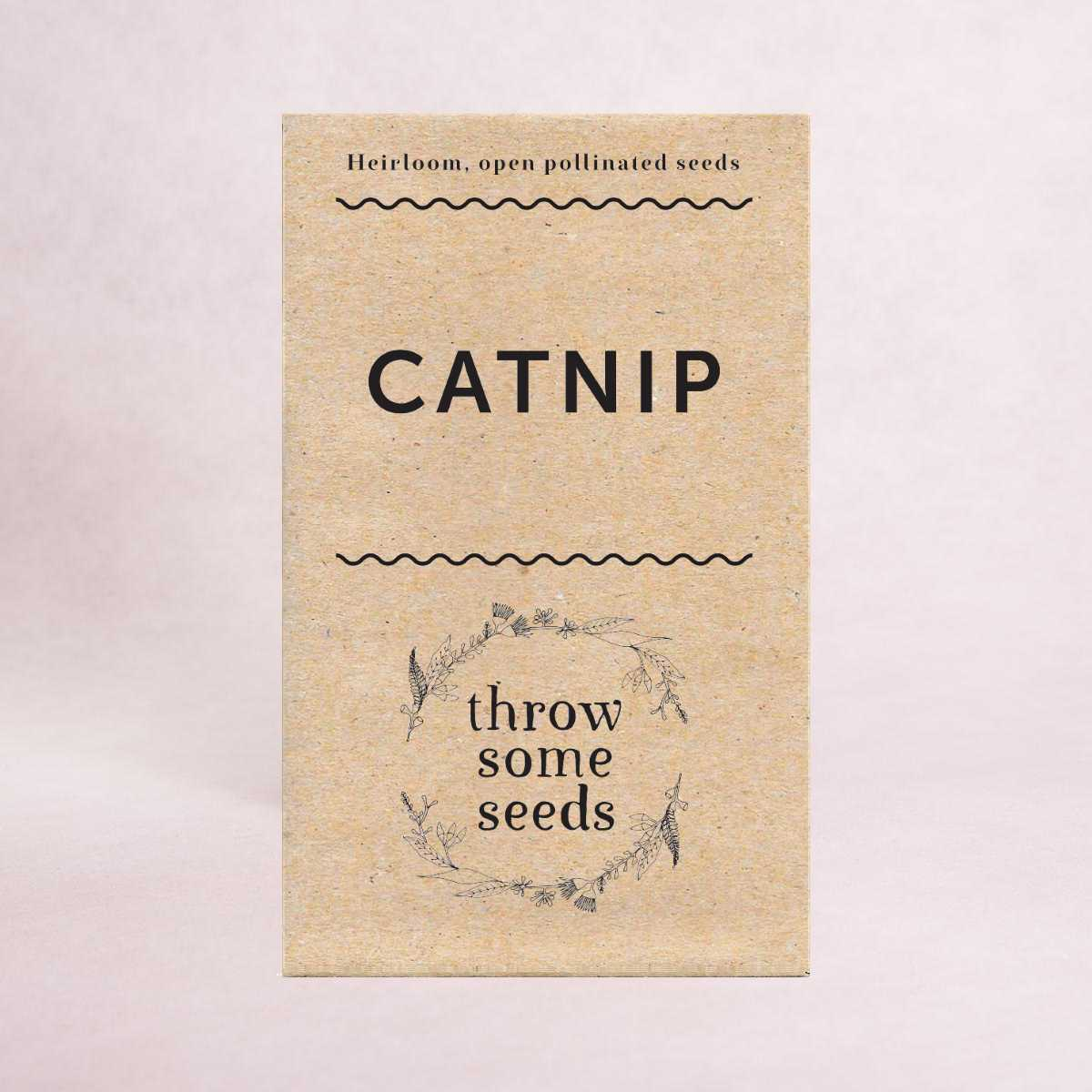 Catnip Seeds - Seeds - Throw Some Seeds - Australian gardening gifts and eco products online!