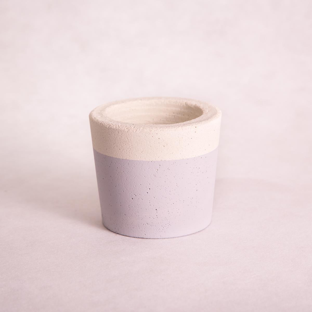 Tub Concrete Planters - Painted (Assorted Colours!) - Concrete Planter - Throw Some Seeds - Australian gardening gifts and eco products online!