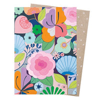 Claire Ishino Greeting Card – Full Bloom - Card - Throw Some Seeds - Australian gardening gifts and eco products online!