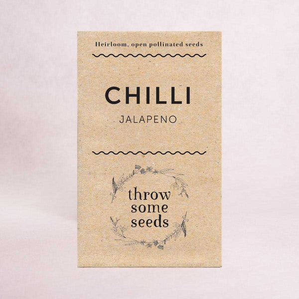 Chilli (Jalapeno) Seeds - Seeds - Throw Some Seeds - Australian gardening gifts and eco products online!