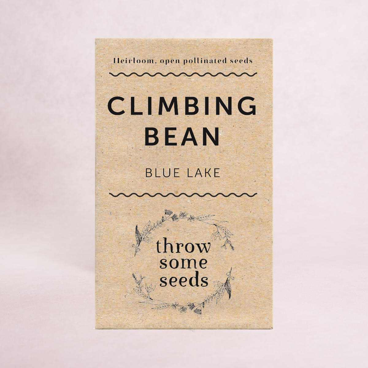 Climbing Bean (Blue Lake) Seeds - Seeds - Throw Some Seeds - Australian gardening gifts and eco products online!