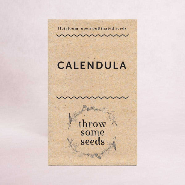 Calendula Seeds - Seeds - Throw Some Seeds - Australian gardening gifts and eco products online!