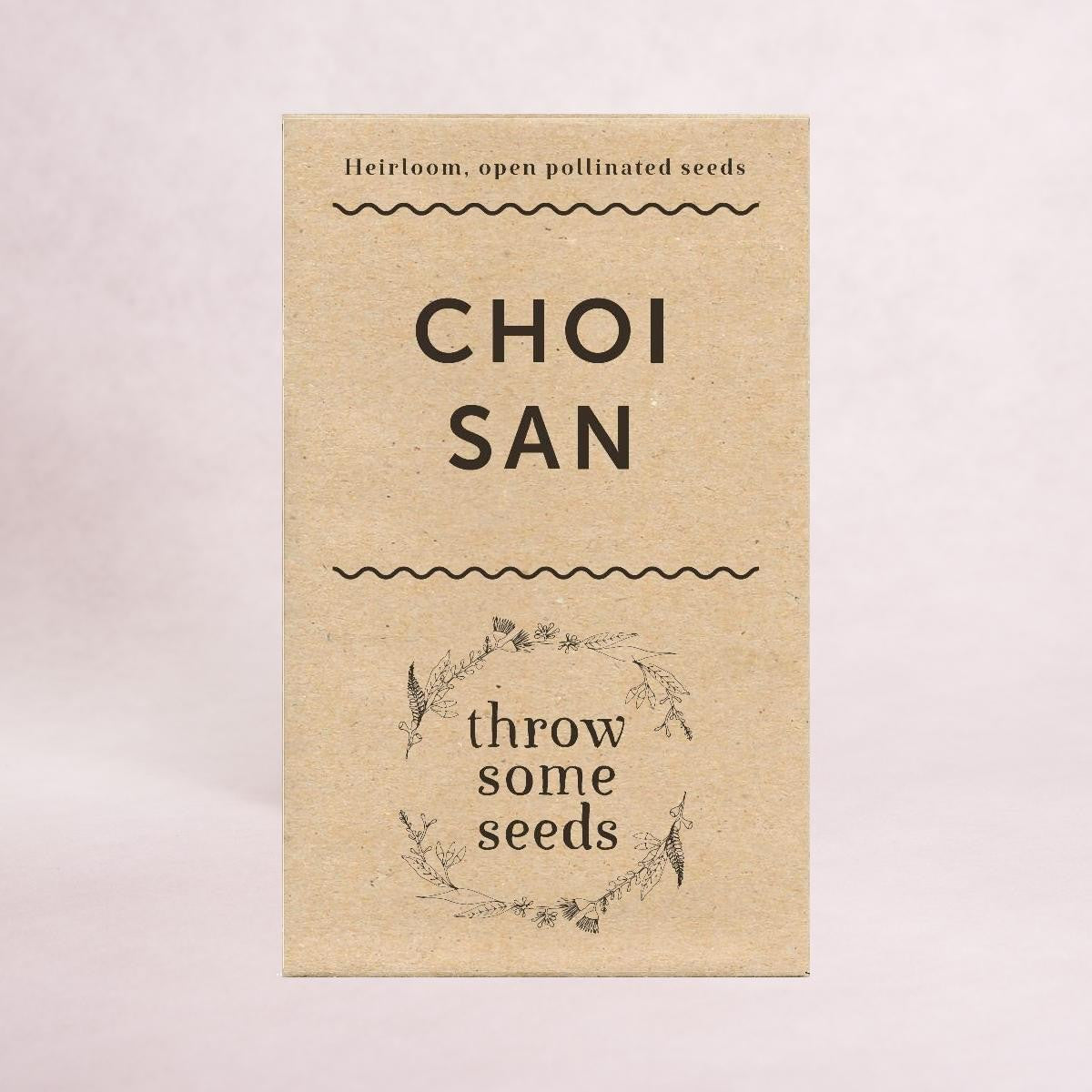 Choi San Seeds - Seeds - Throw Some Seeds - Australian gardening gifts and eco products online!