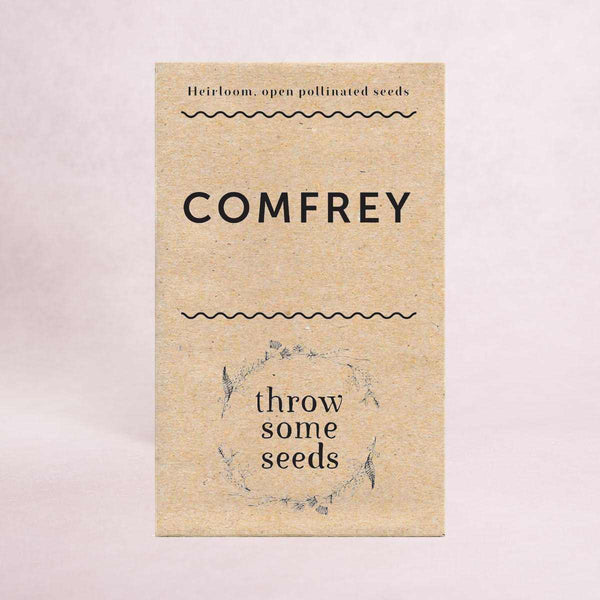 Comfrey Seeds - Seeds - Throw Some Seeds - Australian gardening gifts and eco products online!