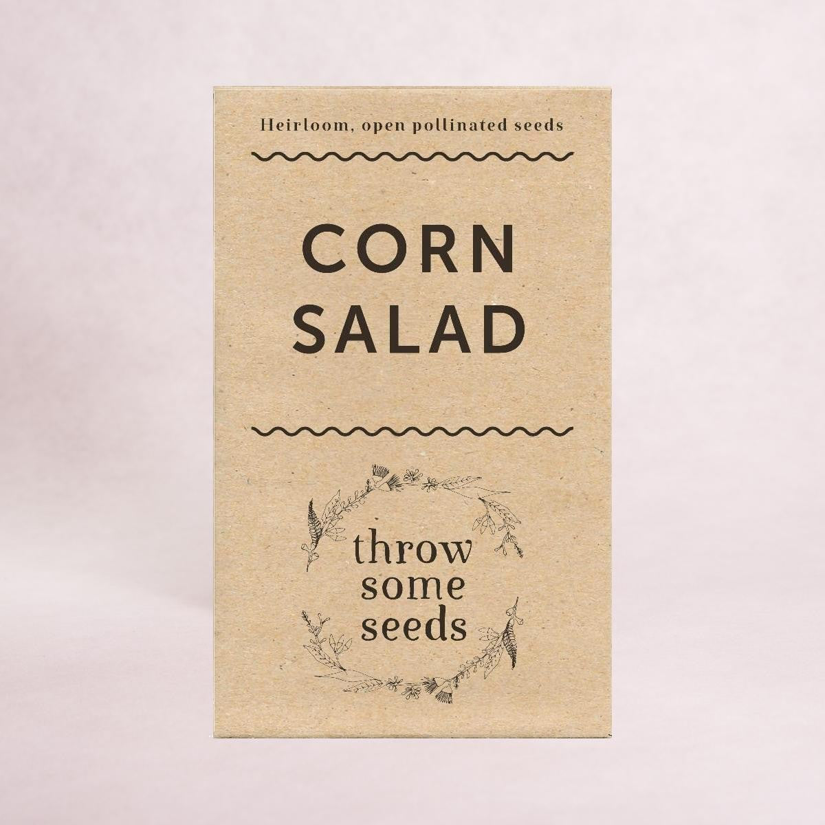 Corn Salad Seeds - Seeds - Throw Some Seeds - Australian gardening gifts and eco products online!