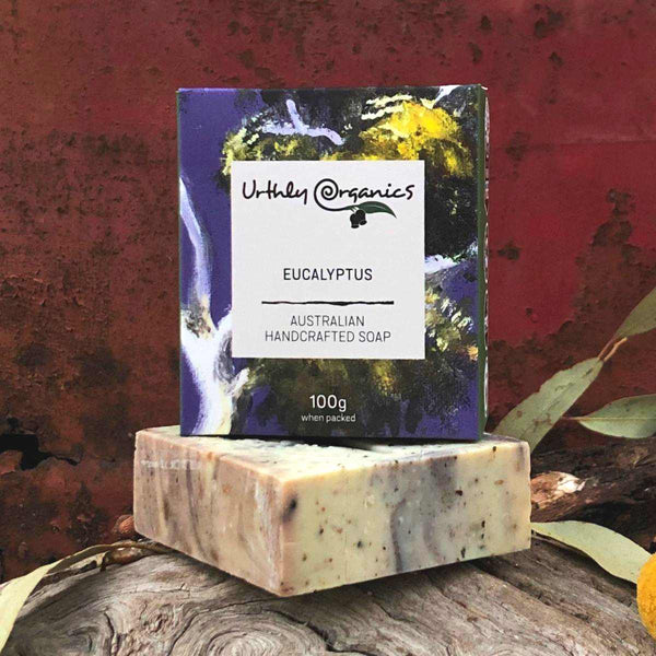 Eucalyptus Soap Bar - Urthly Organics - Bar Soap - Throw Some Seeds - Australian gardening gifts and eco products online!