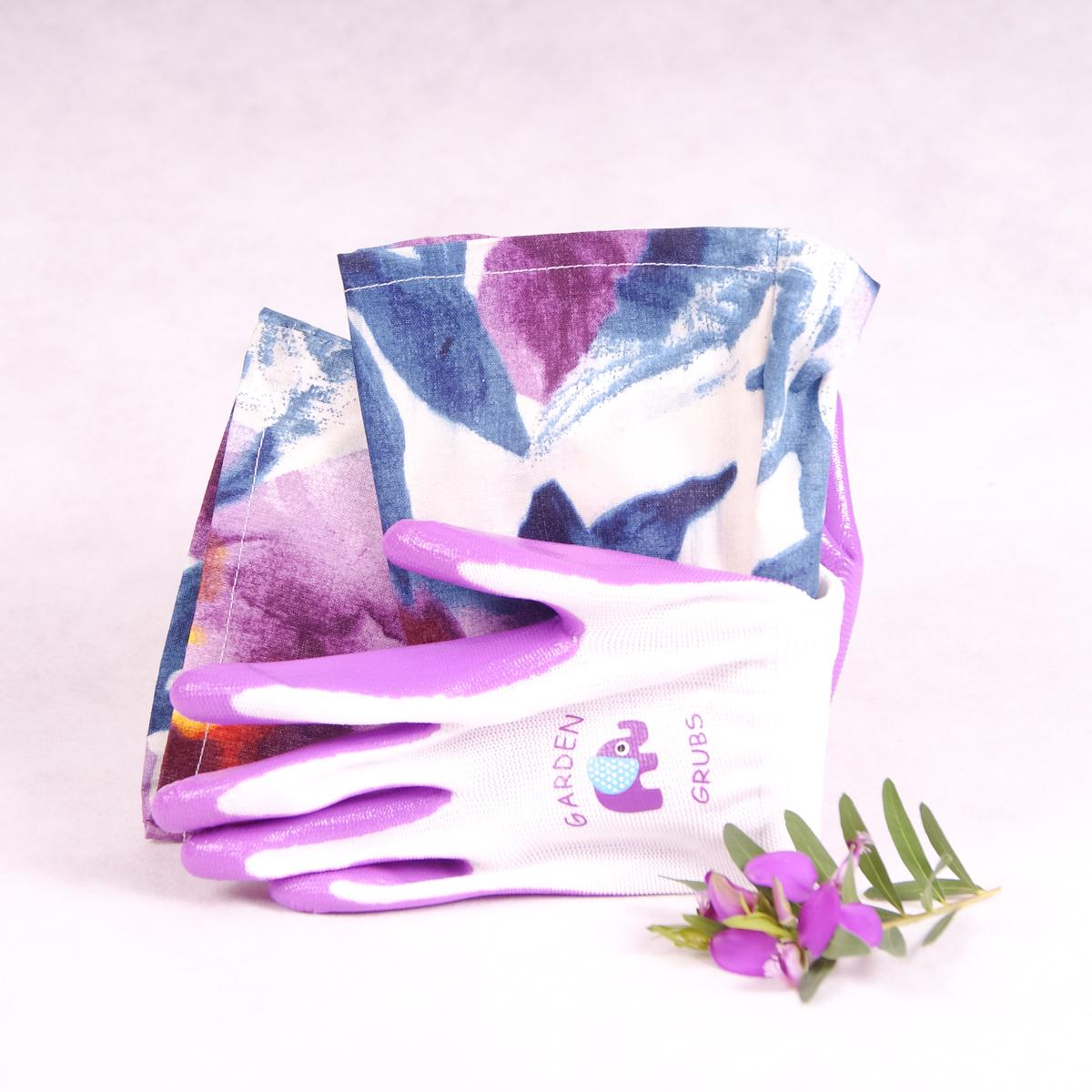 Kids gardening gloves - Purple - Gloves - Throw Some Seeds - Australian gardening gifts and eco products online!
