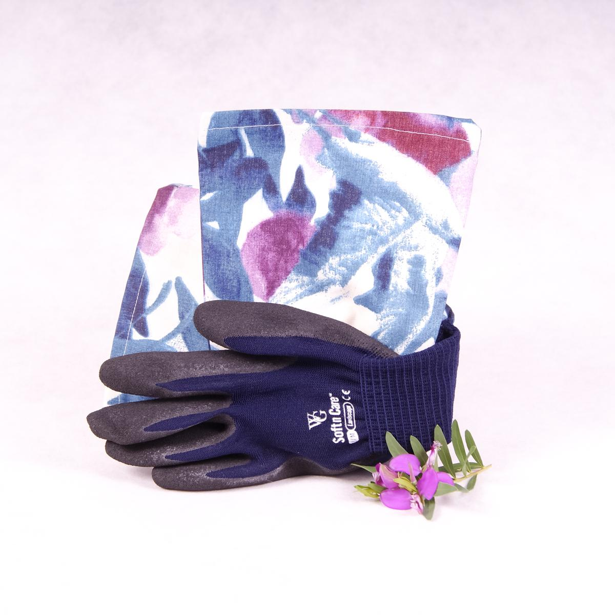 Long sleeve gardening gloves - Plum Purple - Gloves - Throw Some Seeds - Australian gardening gifts and eco products online!