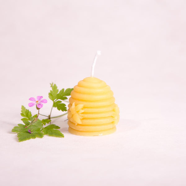 Beeswax Candle - Candle - Throw Some Seeds - Australian gardening gifts and eco products online!