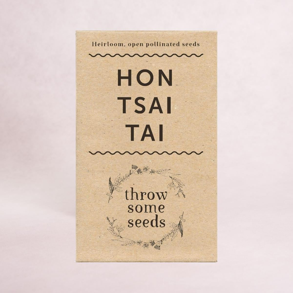 Hon Tsai Tai Seeds - Seeds - Throw Some Seeds - Australian gardening gifts and eco products online!