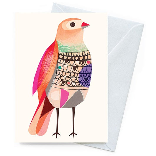 Inaluxe Card – Beautiful Firetail - Card - Throw Some Seeds - Australian gardening gifts and eco products online!