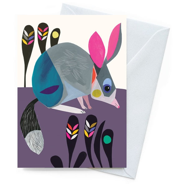 Inaluxe Card – Little Bilby - Card - Throw Some Seeds - Australian gardening gifts and eco products online!