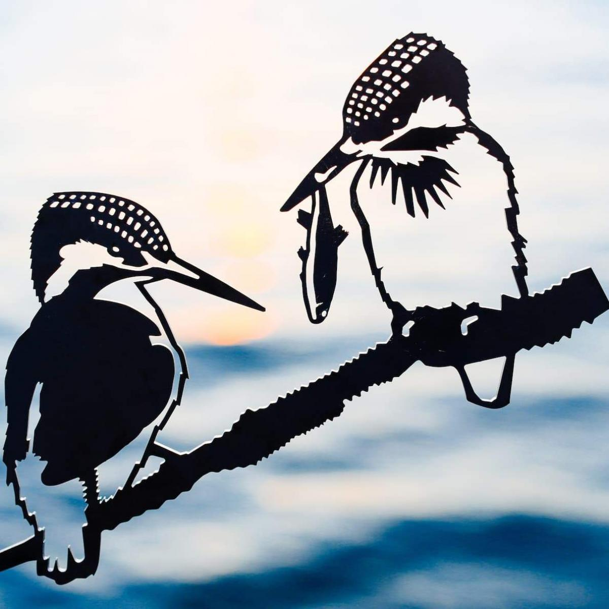 Metalbird - Kingfishers - Metalbird - Throw Some Seeds - Australian gardening gifts and eco products online!