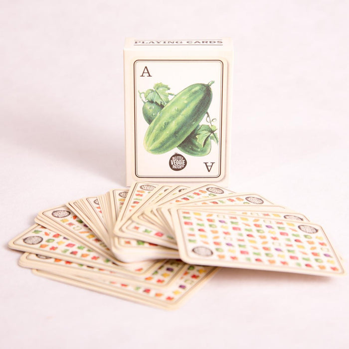 The Little Veggie Patch Co's Playing Cards - Playing Cards - Throw Some Seeds - Australian gardening gifts and eco products online!