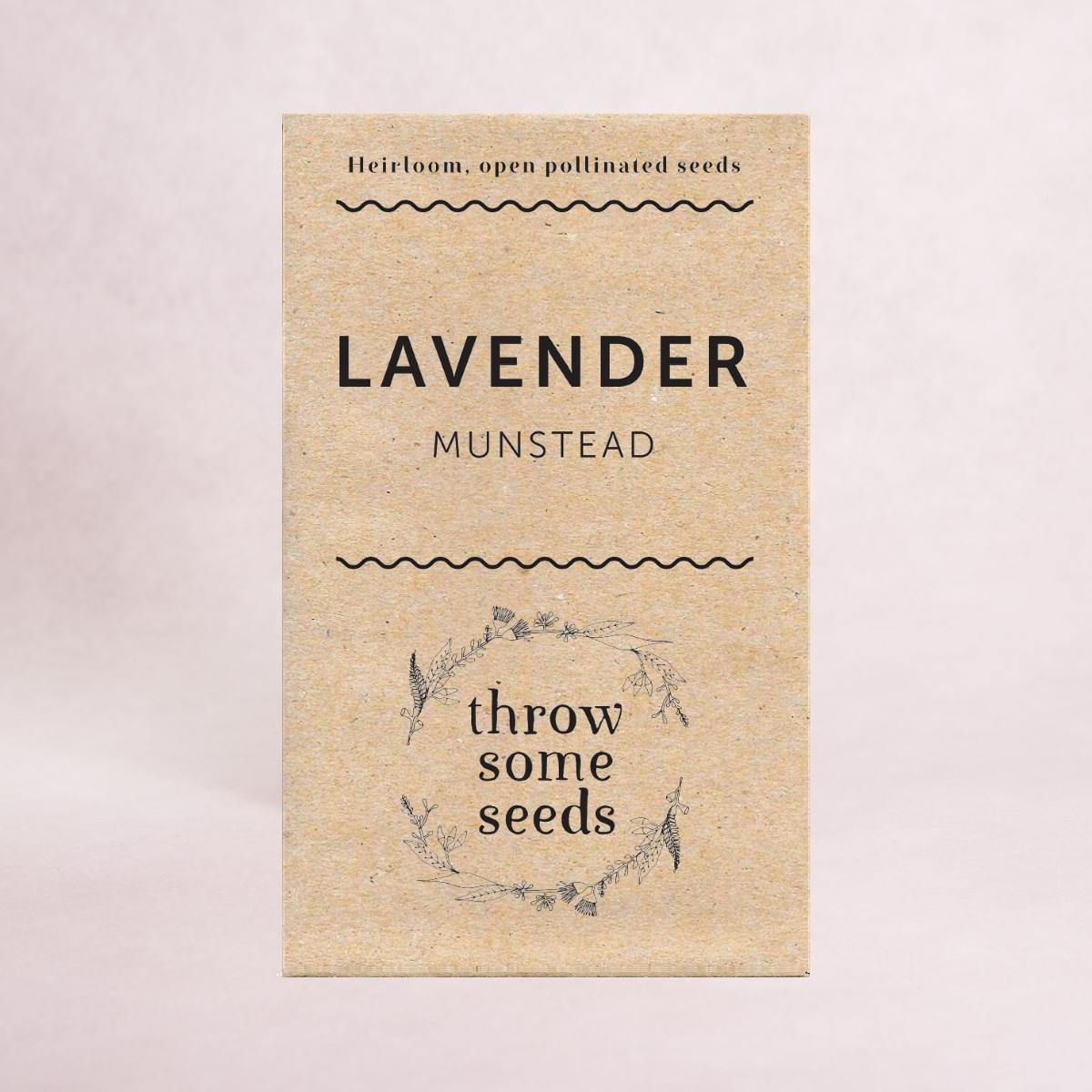 Lavender (Munstead) Seeds - Seeds - Throw Some Seeds - Australian gardening gifts and eco products online!