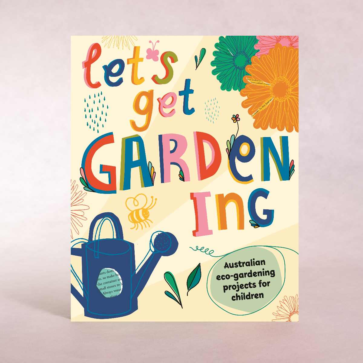 Let's Get Gardening - Australian Eco-gardening Projects for Children | By DK - Book - Throw Some Seeds - Australian gardening gifts and eco products online!