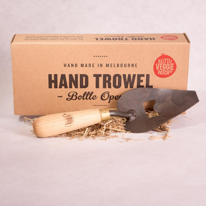 Hand Trowel with Bottle Opener - Garden Trowel - Throw Some Seeds - Australian gardening gifts and eco products online!
