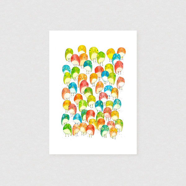 Festival - Limited Edition Print | by Natalie Martin - Unframed Prints - Throw Some Seeds - Australian gardening gifts and eco products online!