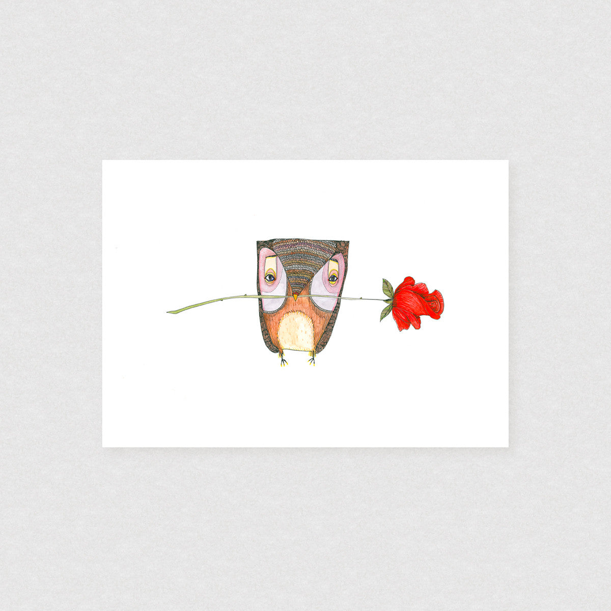 Hopeless Romantic - Limited Edition Print | by Natalie Martin - Unframed Prints - Throw Some Seeds - Australian gardening gifts and eco products online!