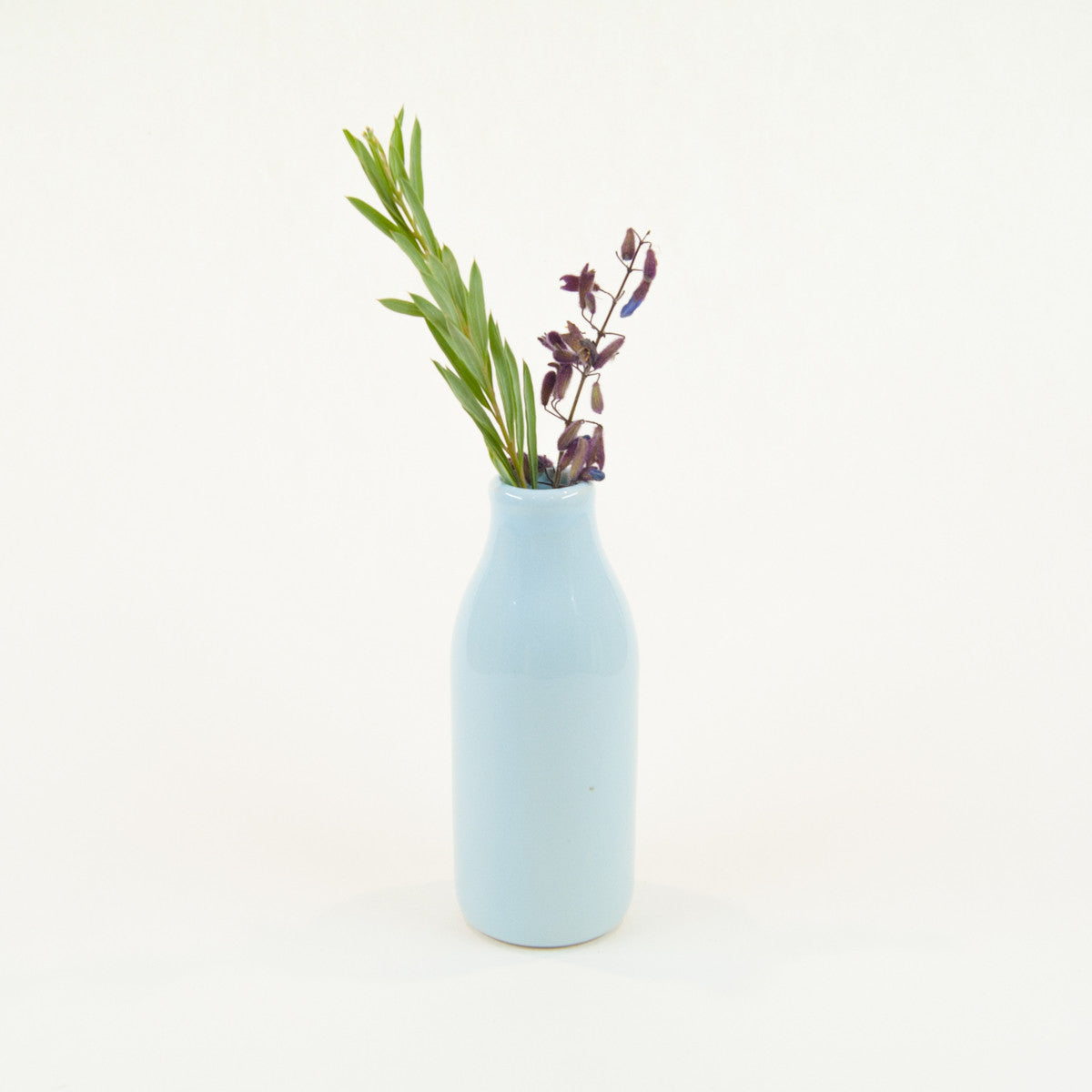 Small Nectar Bottle Vase - Glazed (Assorted Colours!) - Vase - Throw Some Seeds