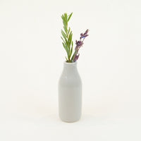Small Nectar Bottle Vase - Glazed (Assorted Colours!) - Vase - Throw Some Seeds - Australian gardening gifts and eco products online!