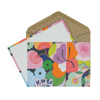 Box of 12 Note Cards – Full Bloom - Note Cards Boxed - Throw Some Seeds - Australian gardening gifts and eco products online!