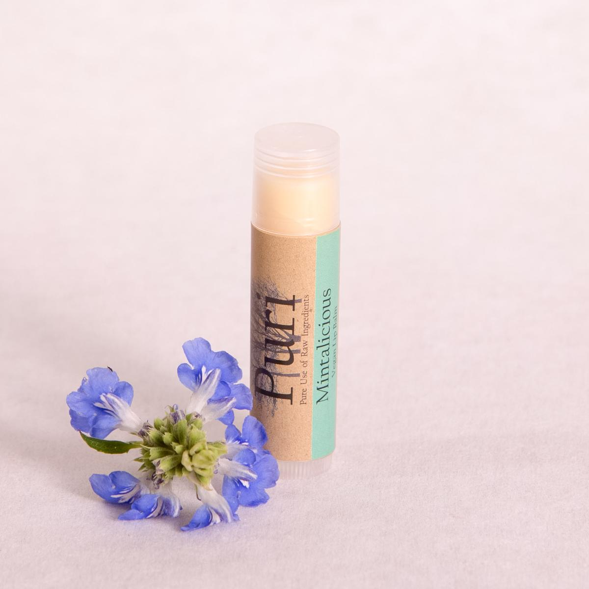 'Mintalicious' Natural Lip Balm - 5ml - Lip Balm - Throw Some Seeds - Australian gardening gifts and eco products online!
