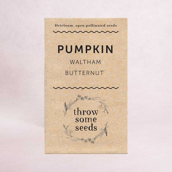 Pumpkin (Waltham Butternut) Seeds - Seeds - Throw Some Seeds - Australian gardening gifts and eco products online!