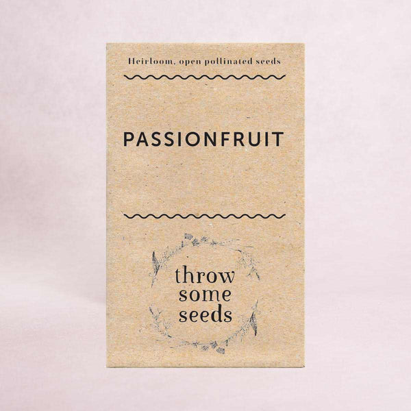 Passionfruit Seeds - Seeds - Throw Some Seeds - Australian gardening gifts and eco products online!