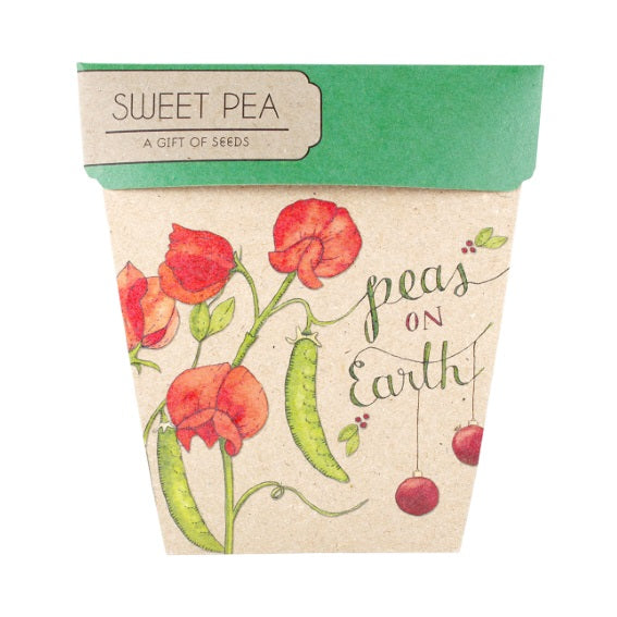 Sow 'n Sow Gift Card with Seeds - Sweet Pea Xmas - Gift of Seeds - Throw Some Seeds - Australian gardening gifts and eco products online!