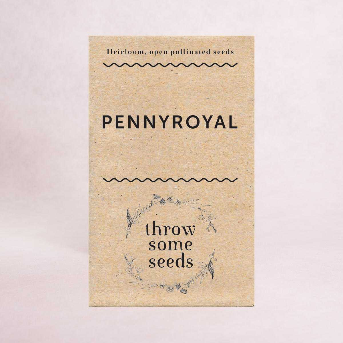 Pennyroyal Seeds - Seeds - Throw Some Seeds - Australian gardening gifts and eco products online!